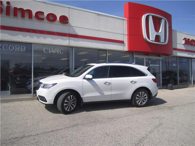 2014 Acura MDX Technology Package (Stk: SH80) in Simcoe - Image 1 of 24