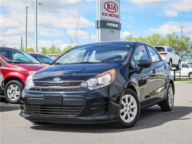 2016 Kia Rio  (Stk: 6289A) in Scarborough - Image 1 of 23