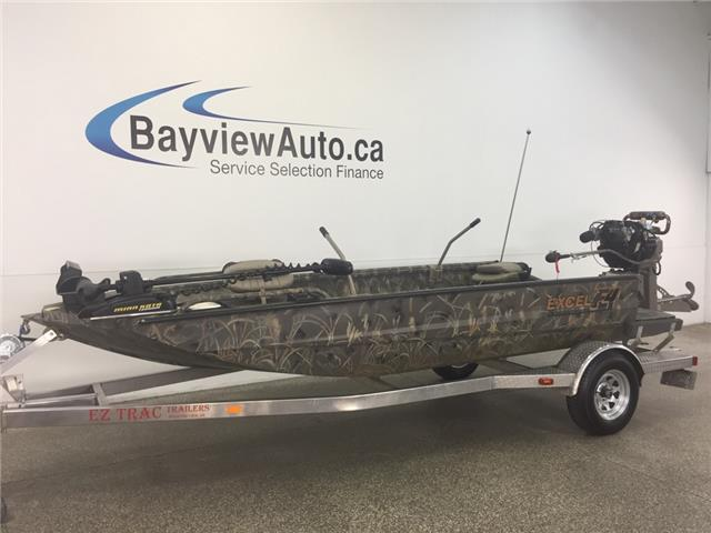 2013 - EXCEL F4 - MUD BOAT! 17 1/2 FT! WINCH! MUD BUDDY MOTOR!  (Stk: 18133) in Belleville - Image 1 of 30