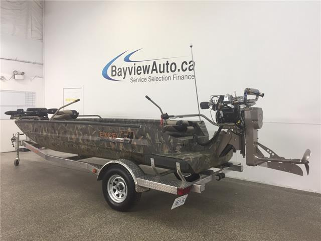 2013 - EXCEL F4 - MUD BOAT! 17 1/2 FT! WINCH! MUD BUDDY MOTOR!  (Stk: 18133) in Belleville - Image 2 of 30
