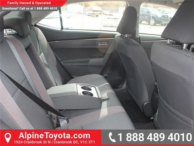 2017 Toyota Corolla LE (Stk: C858246) in Cranbrook - Image 12 of 18