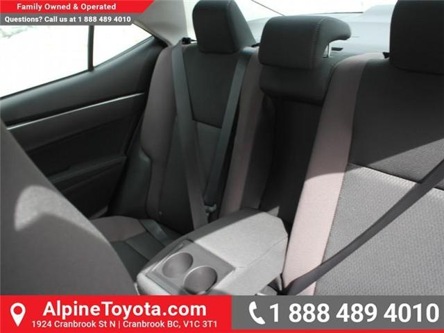 2017 Toyota Corolla LE (Stk: C858246) in Cranbrook - Image 13 of 18