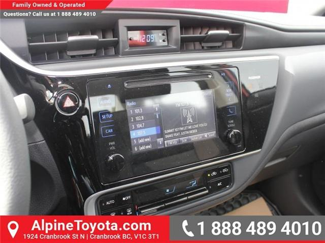 2017 Toyota Corolla LE (Stk: C858246) in Cranbrook - Image 14 of 18