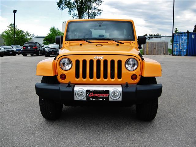 2012 Jeep Wrangler Unlimited Sahara (Stk: 1177) in Orangeville - Image 9 of 17