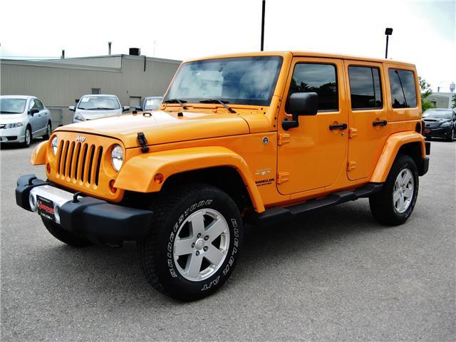 2012 Jeep Wrangler Unlimited Sahara (Stk: 1177) in Orangeville - Image 2 of 17