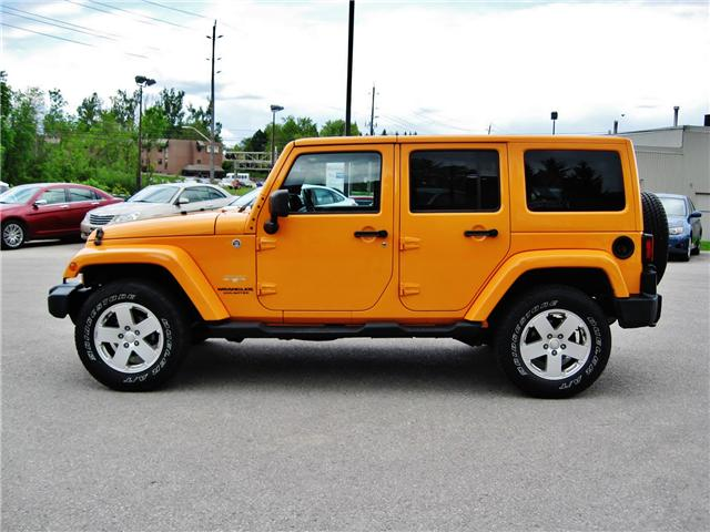 2012 Jeep Wrangler Unlimited Sahara (Stk: 1177) in Orangeville - Image 3 of 17