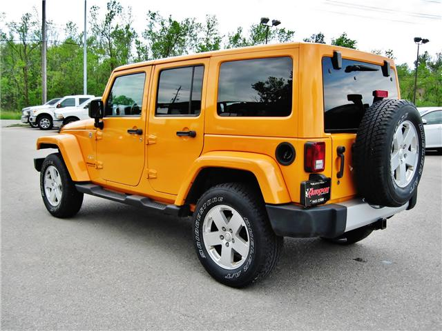 2012 Jeep Wrangler Unlimited Sahara (Stk: 1177) in Orangeville - Image 4 of 17