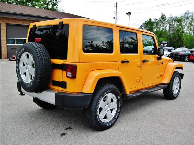 2012 Jeep Wrangler Unlimited Sahara (Stk: 1177) in Orangeville - Image 6 of 17