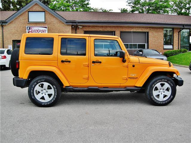 2012 Jeep Wrangler Unlimited Sahara (Stk: 1177) in Orangeville - Image 7 of 17