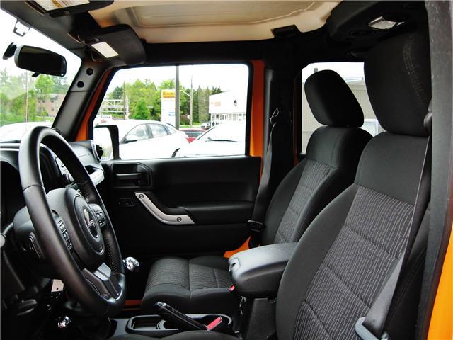 2012 Jeep Wrangler Unlimited Sahara (Stk: 1177) in Orangeville - Image 10 of 17