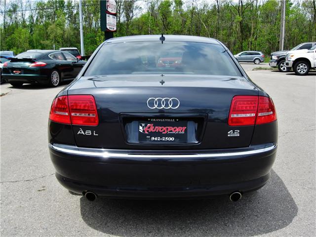 2010 Audi A8 L 4.2 (Stk: 1192) in Orangeville - Image 5 of 19