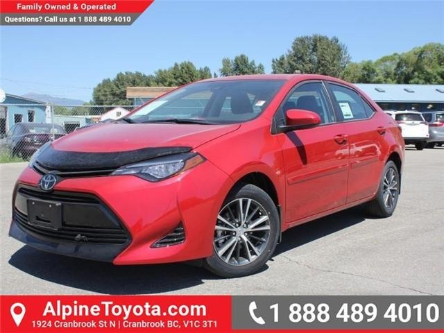 2017 Toyota Corolla LE (Stk: C858246) in Cranbrook - Image 1 of 18
