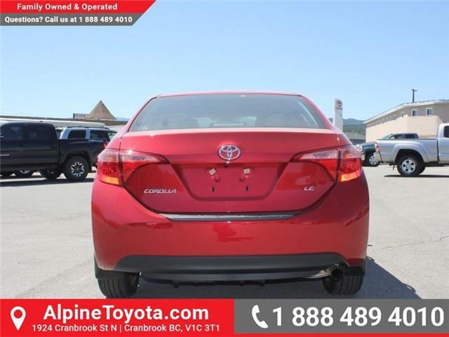 2017 Toyota Corolla LE (Stk: C858246) in Cranbrook - Image 4 of 18