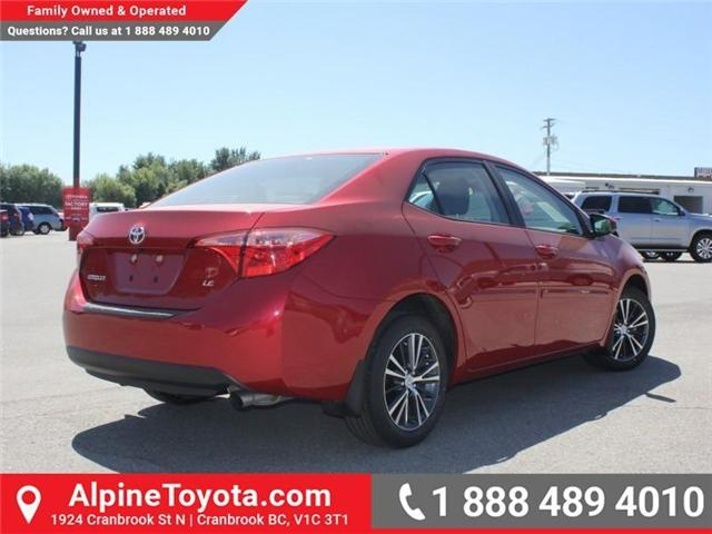 2017 Toyota Corolla LE (Stk: C858246) in Cranbrook - Image 5 of 18