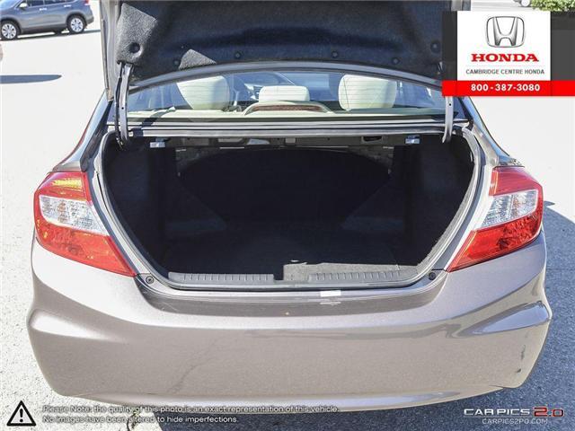 2012 Honda Civic EX (Stk: 17155A) in Cambridge - Image 11 of 27