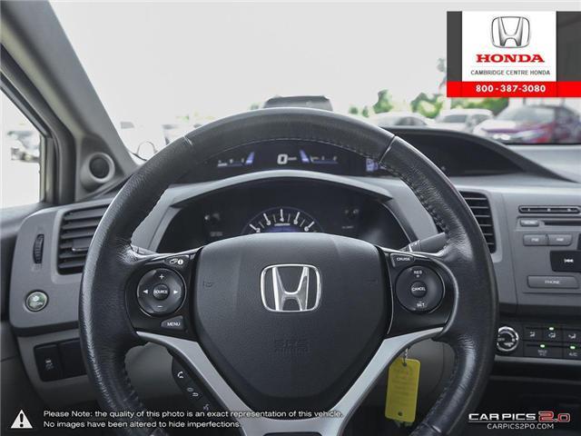 2012 Honda Civic EX (Stk: 17155A) in Cambridge - Image 14 of 27