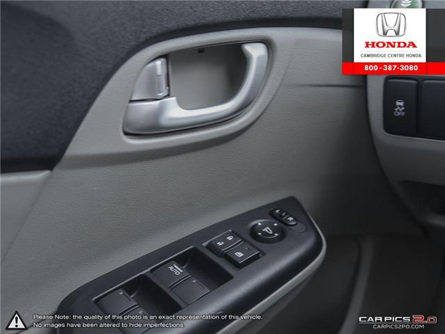 2012 Honda Civic EX (Stk: 17155A) in Cambridge - Image 17 of 27