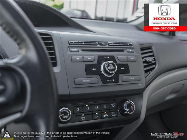 2012 Honda Civic EX (Stk: 17155A) in Cambridge - Image 20 of 27