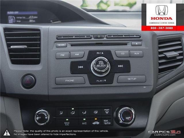 2012 Honda Civic EX (Stk: 17155A) in Cambridge - Image 22 of 27