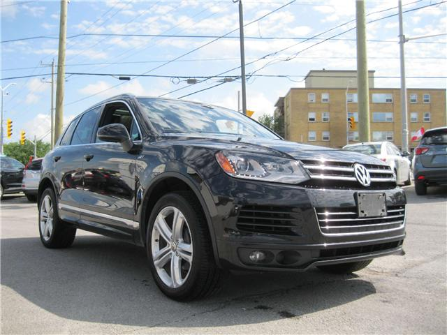 2014 Volkswagen Touareg 3.6L Highline (Stk: 170931) in Kingston - Image 1 of 13