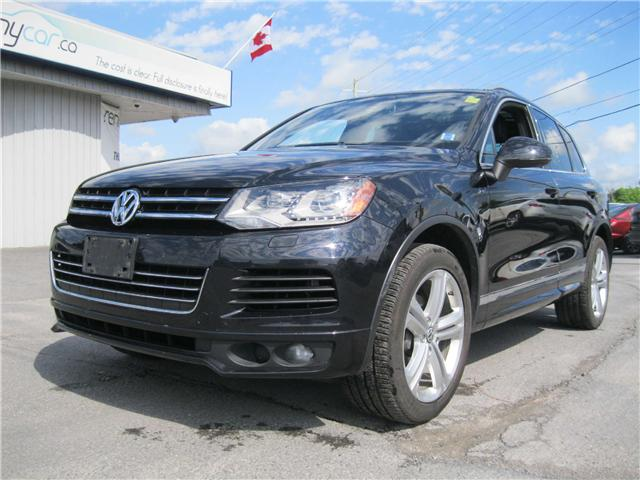 2014 Volkswagen Touareg 3.6L Highline (Stk: 170931) in Kingston - Image 2 of 13