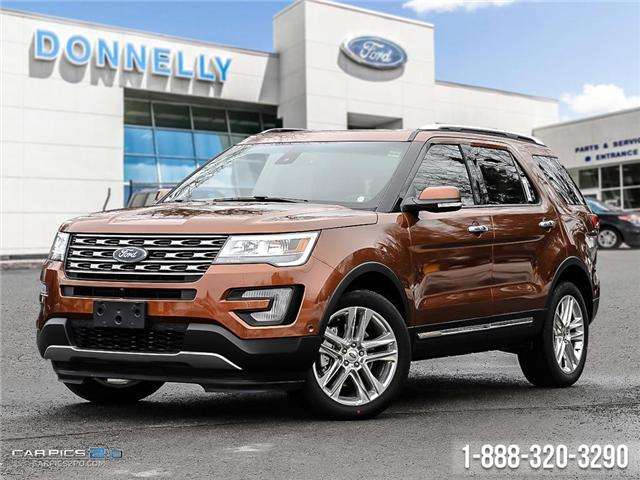 2017 Ford Explorer Limited (Stk: DQ121) in Ottawa - Image 1 of 25