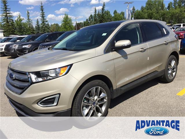 2017 Ford Edge Titanium (Stk: H-1492) in Calgary - Image 1 of 6