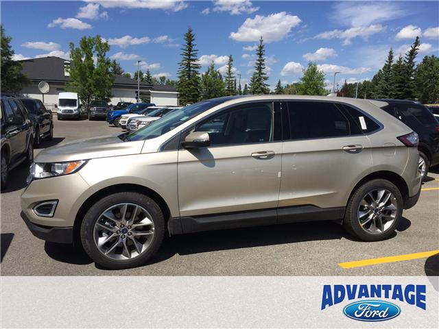 2017 Ford Edge Titanium (Stk: H-1492) in Calgary - Image 2 of 6