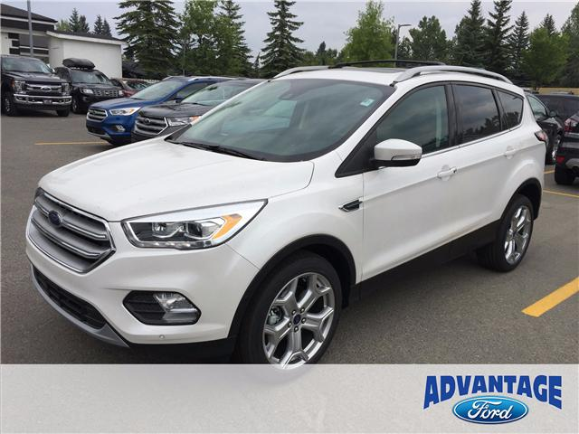 2017 Ford Escape Titanium (Stk: H-1447) in Calgary - Image 1 of 6