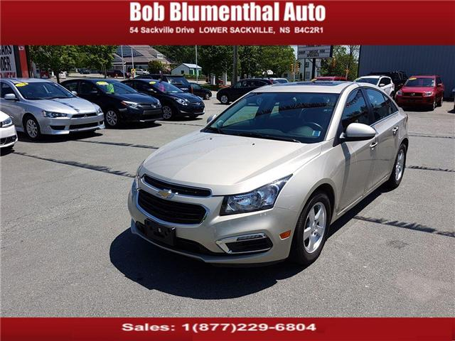 2015 Chevrolet Cruze 2LT (Stk: U38778) in Lower Sackville - Image 1 of 25
