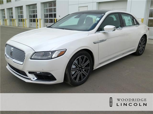 2017 Lincoln Continental Reserve (Stk: H-353) in Calgary - Image 1 of 6