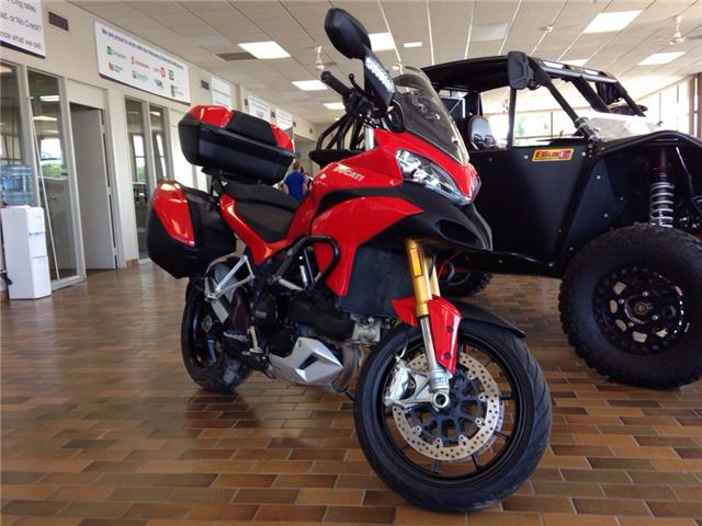 2012 Ducati MULITSTRADA 1200S- 150 HP! ALL ORIGINAL! HARD SADDLE BAGS! (Stk: 30746) in Belleville - Image 2 of 17