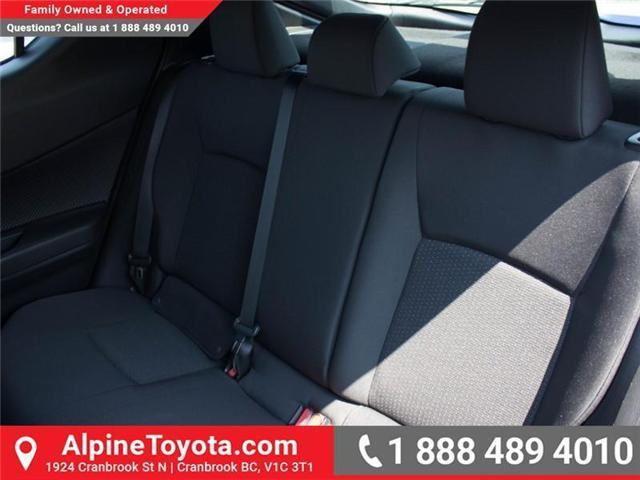 2018 Toyota C-HR XLE (Stk: R024319) in Cranbrook - Image 13 of 17