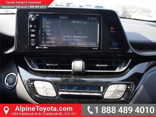 2018 Toyota C-HR XLE (Stk: R024319) in Cranbrook - Image 14 of 17