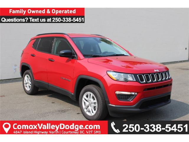 2018 Jeep Compass Sport (Stk: T107500) in Courtenay - Image 1 of 26