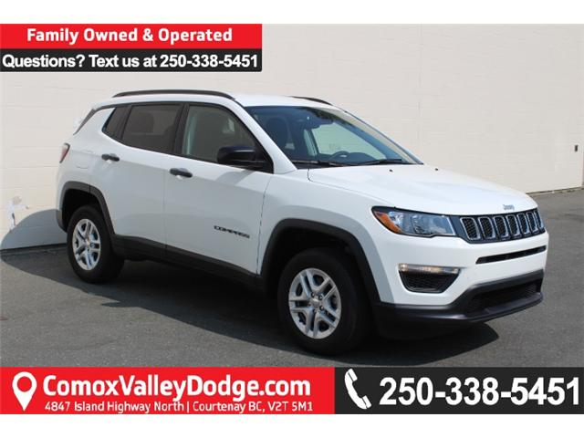 2018 Jeep Compass Sport (Stk: T107502) in Courtenay - Image 1 of 27
