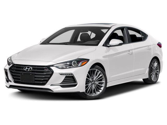 2018 Hyundai Elantra Sport Tech (Stk: JU462674) in Mississauga - Image 1 of 9