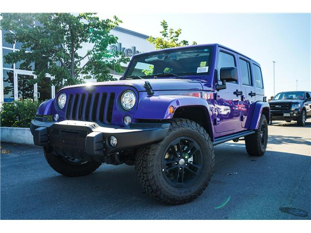 2017 Jeep Wrangler Unlimited Sahara (Stk: 171755) in Thunder Bay - Image 1 of 14