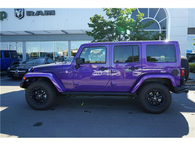 2017 Jeep Wrangler Unlimited Sahara (Stk: 171755) in Thunder Bay - Image 2 of 14