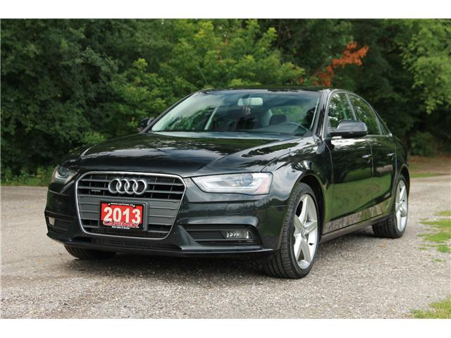 2013 Audi A4 2.0T Premium Plus (Stk: 1708410) in Waterloo - Image 1 of 26