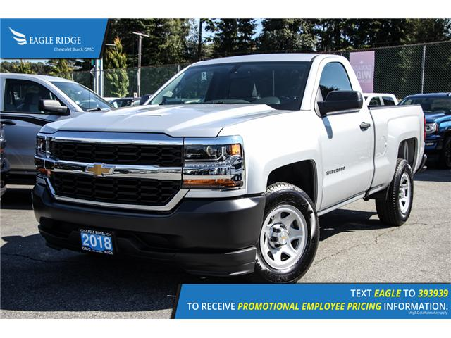 2018 Chevrolet Silverado 1500 WT (Stk: 89200A) in Coquitlam - Image 1 of 16