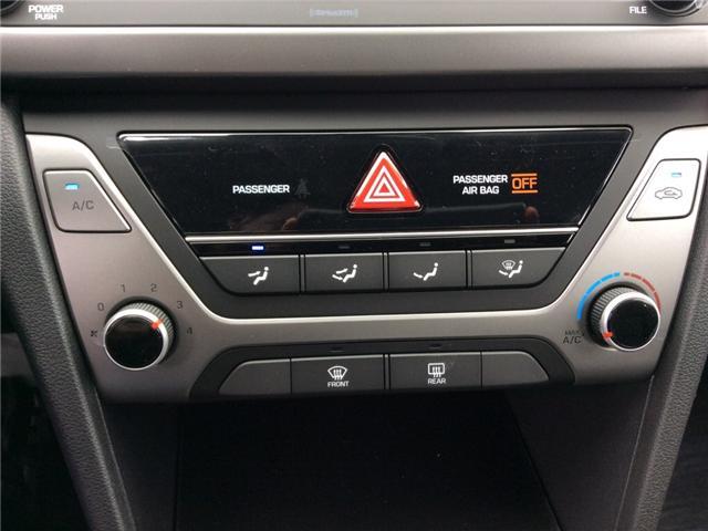 2018 Hyundai Elantra GL SE (Stk: R85118) in Ottawa - Image 12 of 24
