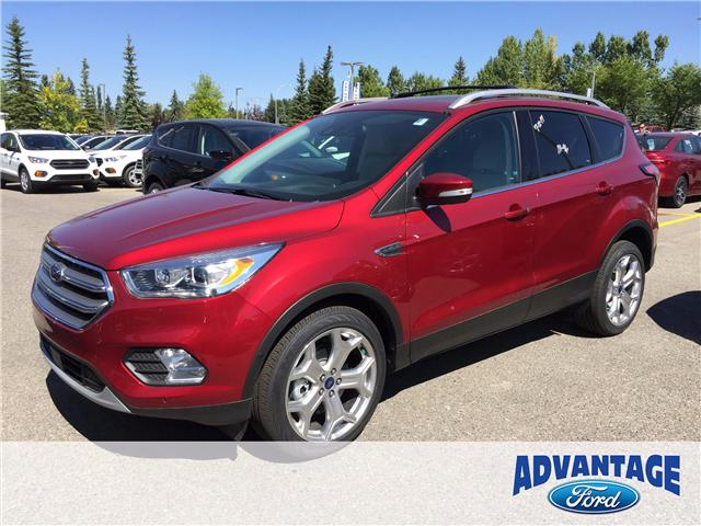 2017 Ford Escape Titanium (Stk: H-1704) in Calgary - Image 1 of 5
