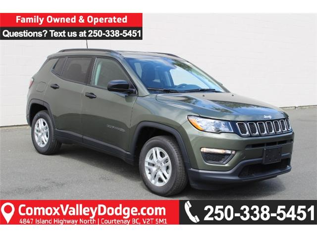 2018 Jeep Compass Sport (Stk: T106388) in Courtenay - Image 1 of 30