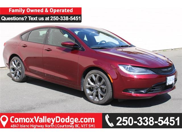 2016 Chrysler 200 S (Stk: N193544A) in Courtenay - Image 1 of 28
