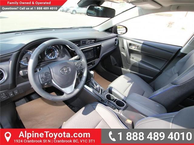 2017 Toyota Corolla SE (Stk: C958675) in Cranbrook - Image 9 of 19