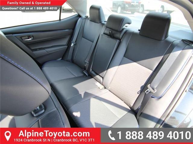 2017 Toyota Corolla SE (Stk: C958675) in Cranbrook - Image 11 of 19