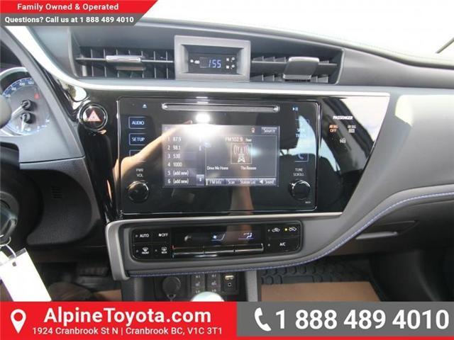 2017 Toyota Corolla SE (Stk: C958675) in Cranbrook - Image 12 of 19