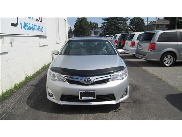 2013 Toyota Camry XLE V6 (Stk: 171115) in Kingston - Image 1 of 12