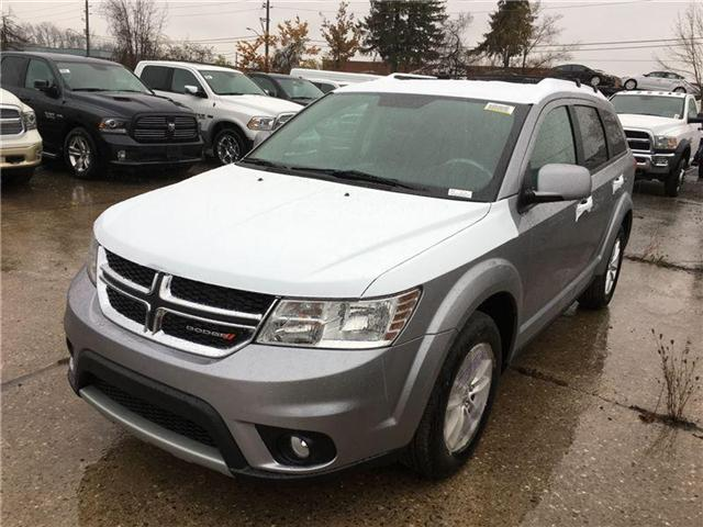 2017 Dodge Journey SXT (Stk: HT551088) in Mississauga - Image 1 of 5